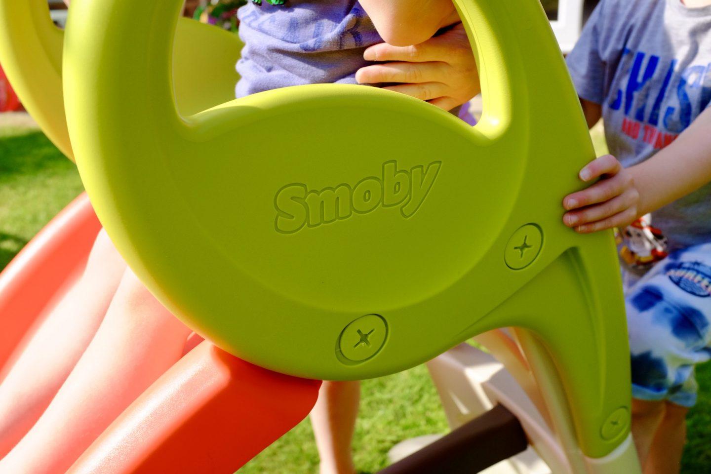 side of the Smoby KS kids slide