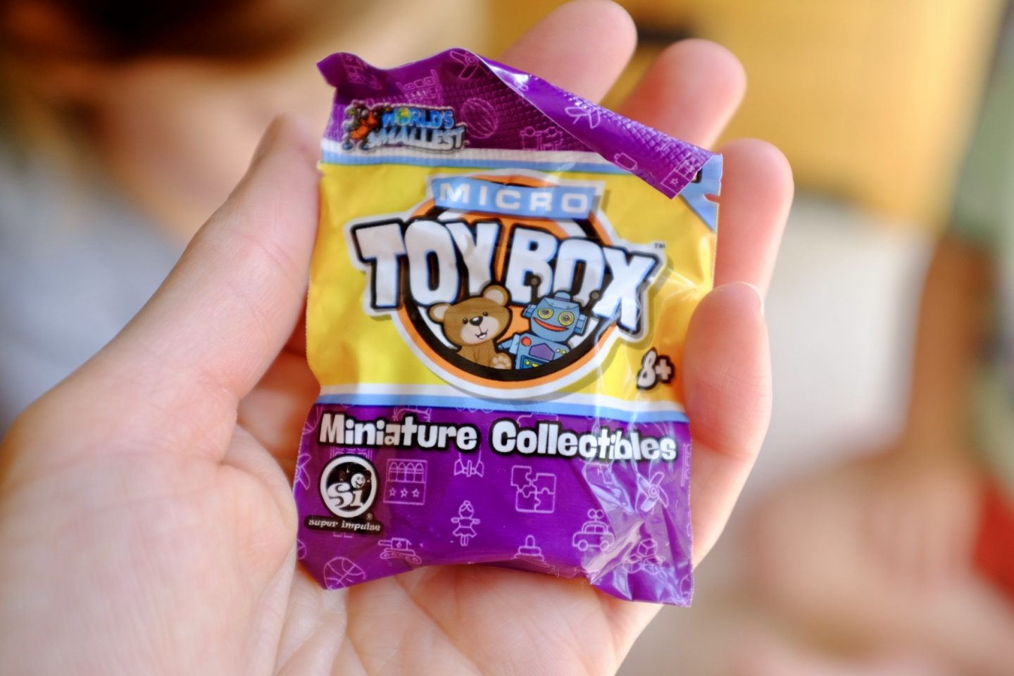 Micro toy box blind bags