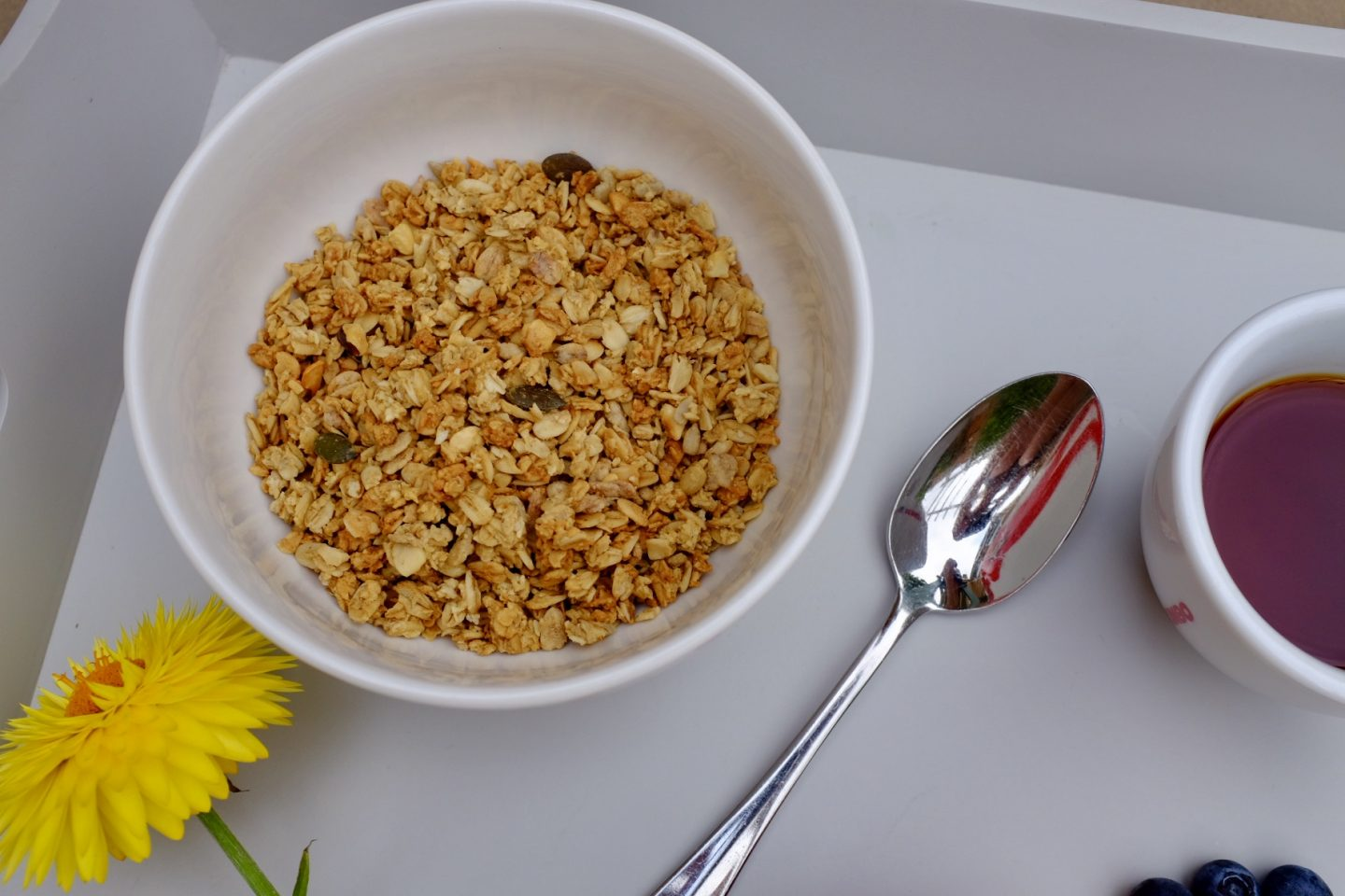 granola with BC30 cultures