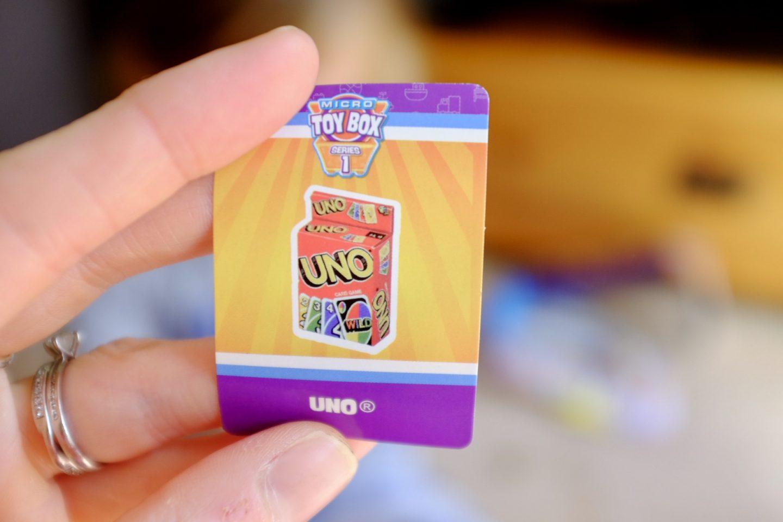uno sticker card
