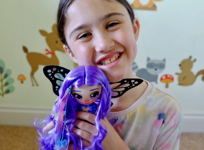 girl with Dream Seekers Dolls Zara